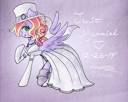 Just Married by Midnameowfries
