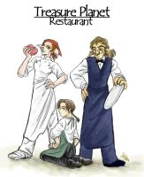 Restaurant TREASURE PLANET by shibu