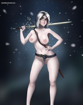 Witcher Ciri (NSFW) by Aoyaibaba