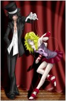 Nicolai and Amber Puppet Master by Ghost-of-Shoichi