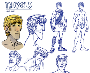 Theseus Model Sheet