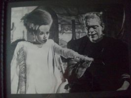 The bride of Frankenstein by depoi