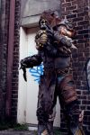 Gears of War Locust cosplay by cimmerianwillow