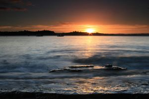 Tindalls Bay Sunset by Rikko40