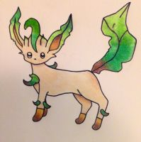 Leafeon by SnowGirl134