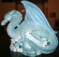 Glacier Dragon by MadForHatters