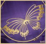 Yuuko, butterfly embroidery by boco903