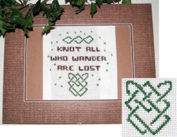 Knot all who wander are lost by Duitauriel