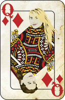 Queen of Diamonds by SenseiUkyo