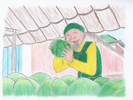 Cabbage Merchant by MrAndrew18