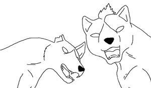 ginga lineart 46 by lineart4you