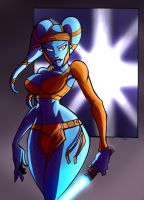 Aayla colored by Ritualist