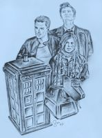 The Doctor and Friends by Sini-M