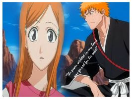 orihime loves ichigo essay Ichigo kurosaki is a fictional character in the bleach manga series and   according to kubo, ichigo, along with orihime inoue, are the most arduous  characters to sketch while illustrating one of ichigo's.