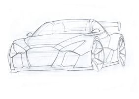 Sport concept sketch by Morfiuss