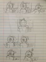 Messing with Luca doodle - part 1 by Jestloo