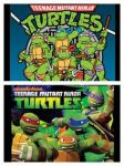 Tmnt1987 And 2012 by rosewitchcat
