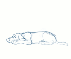 sad puppy animation by jasmiri