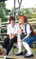 Asuka Langley Shinji Ikari Cosplay - Evangelion by SailorMappy