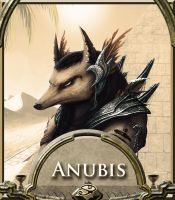 Anubis, Judge of the Dead (God 1/12) by Skrubhjert