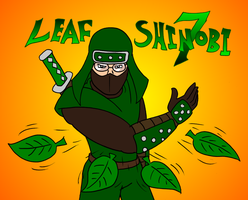 Birthday Pic -- LeafShinobi by Ross-Sanger