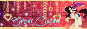 LadyR: Amour Couture Banner by LadyRoyalei