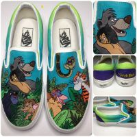 Jungle Book Shoes by hcram5