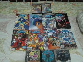 My Current Mega Man Collection by DestinyDecade