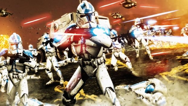 Clone Wars by LordHayabusa357