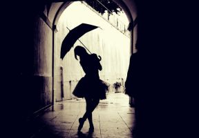 Dancing in the rain by filiipz