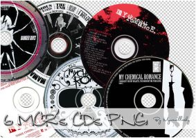 Pack 2 - MCR's CDs PNG by MyVanillaSky