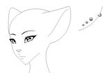 Female Furry Head Base by AdmiralFacePalm