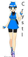 PKMN Trainer Crystal (Me) by Sailormoon003