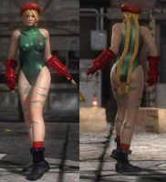 DoA5 Mod - Sarah: Cammy Cosplay by Segadordelinks