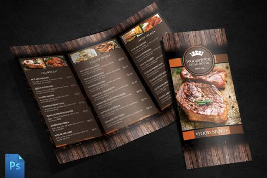 Menu Template by quickandeasy1