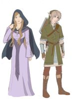 My Dream: Link and the Lady by RoxyRoo