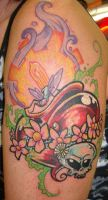 Sacred Bug Heart by Dreekzilla