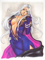 Urd from Ah! My Goddess by daikkenaurora