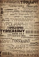 typography. by just1dreamer