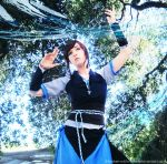 LOK Cosplay Go with the Flow by broken-with-roses