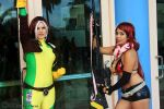 Rogue and Yoko Littner 1 by Insane-Pencil