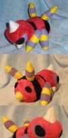 Ariados Pokedoll by Glacideas