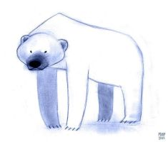 Polar Bear by sketchinthoughts