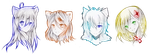 :COM: Headshot 7th Batch by AngelicsMana