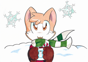 Christmas Kitty by SmilehKitteh