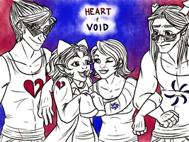 Homestuck: The Heroes of Heart and Void by NancyStageRat