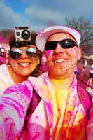 The Color Run.. Pink by SublimeBudd