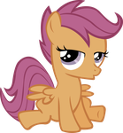 Scootaloo - Do Not Care by midnite99