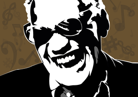 Ray Charles Vecto by maepi