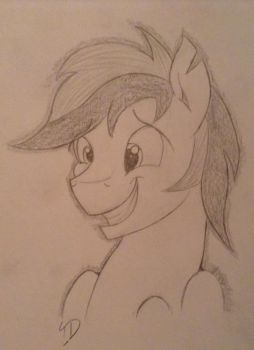 Thunder being cute by ThunderDash123